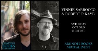 Vinnie Sarrocco & Robert P. Kaye—Poems, Stories, and Conversation