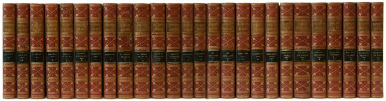 The Waverley Novels / By Sir Walter Scott, Bart. (36 Volumes]. Sir Walter Scott.