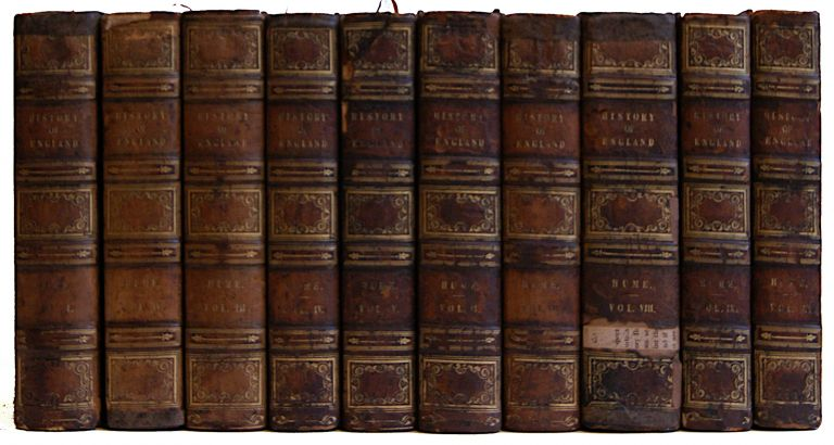 The History of England from the Invasion of Julius Caesar to the Revolution in 1688 [10 volumes]. David Hume.