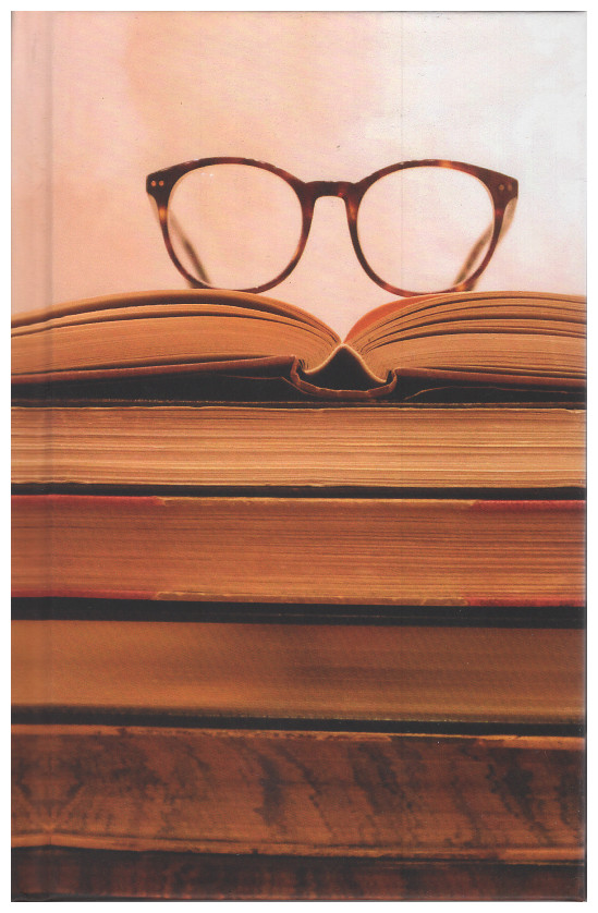 Blank Journal - Books and Glasses Cover (hardcover). Chatwin Books.