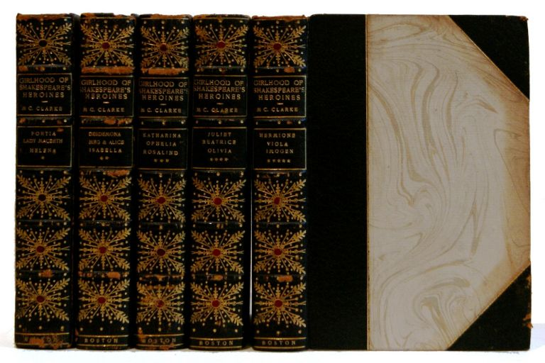 The Girlhood of Shakespeare's Heroines in a Series of Tales [5 Volumes]. Mary Cowden Clarke.