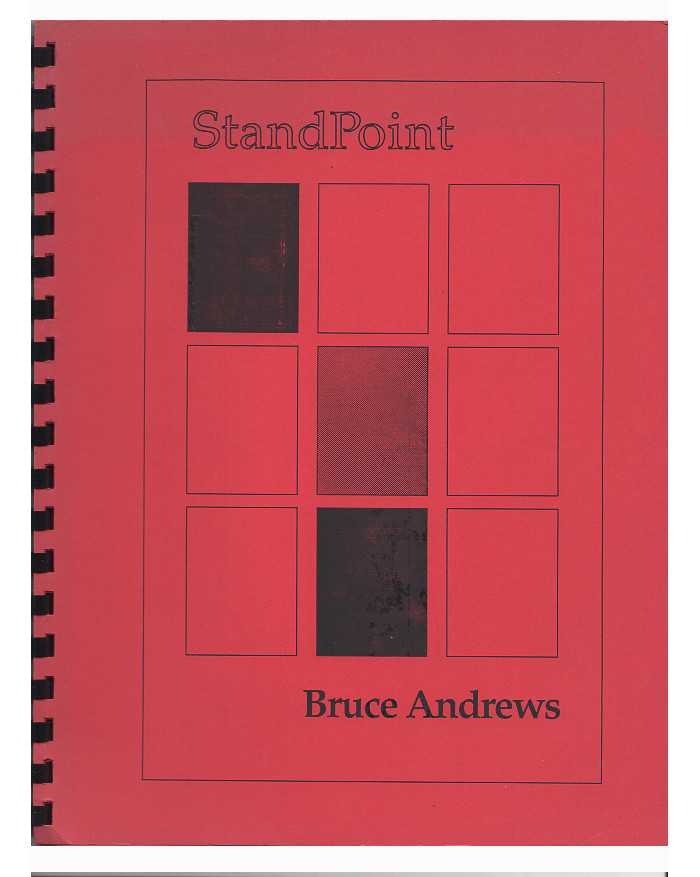 Standpoint. Bruce Andrews.