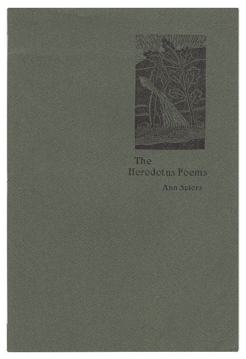 The Herodotus Poems. Ann Spiers.