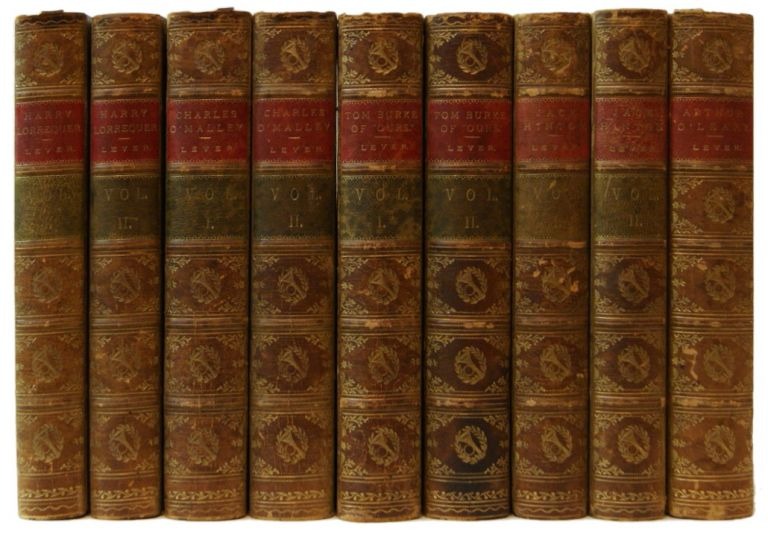 The Military Novels of Charles Lever [5 Volumes]. Charles Lever.