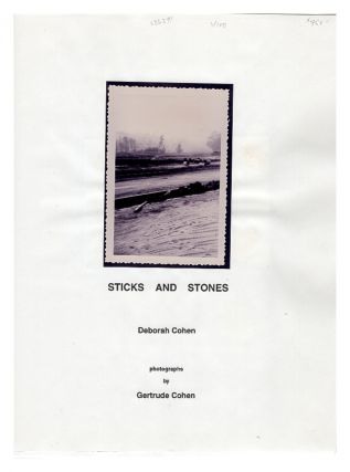 Sticks and Stones (Public Access Press series, no. 2.). Deborah Cohen