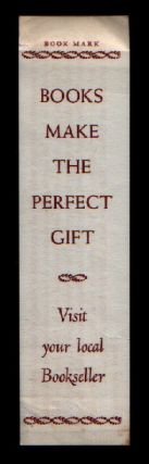 And it is wonderful that even Today... [Book Mark: Books Make the Perfect Gift Visit Your Local...
