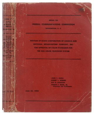 Petition of Radio Corporation of America and National Broadcasting Company, inc. for approval of...