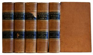 The Native Races: The Works of Hubert Howe Bancroft, vols. I, II, III, IV, V [5 volume set]