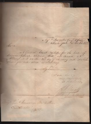 Report of the Trial of Brig. General William Hull; Commanding the North-Western Army of the United States By a Court Martial Held at Albany on Monday, 3rd January, 1814, and Succeeding Days, Etc.