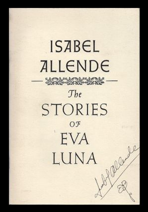 The Stories of Eva Luna: Chapbook. Isabel Allende