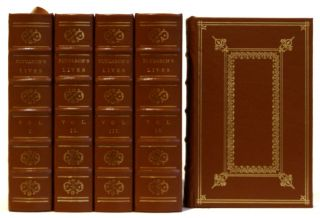 Plutarch's Lives of the Noble Greeks and Romans in 5 Volumes. Plutarch of Chaeronea, John Dryden, Author.