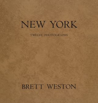 New York. Brett Weston, Roger Cushing Aikin.