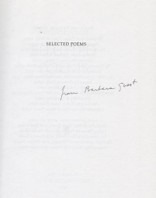 Selected Poems of Barbara Guest