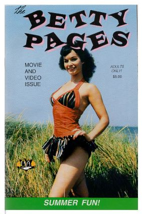 The Betty Pages #8 Summer 1992. Betty Page, Greg Theakston