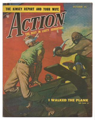 Action October 1953 / Vol. 1, No. 5. Clair W. Huffaker.