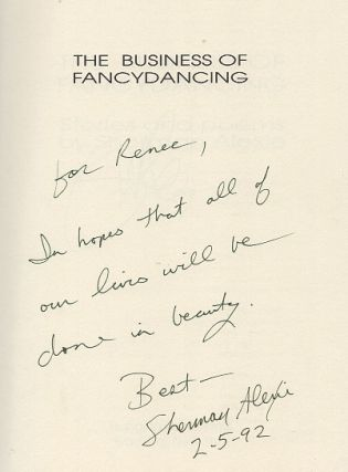 The Business of Fancydancing: Stories and Poems