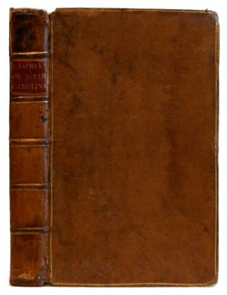An Account of the Weather and Diseases of South Carolina [2 Volumes Bound in 1]. Lionel Chalmers