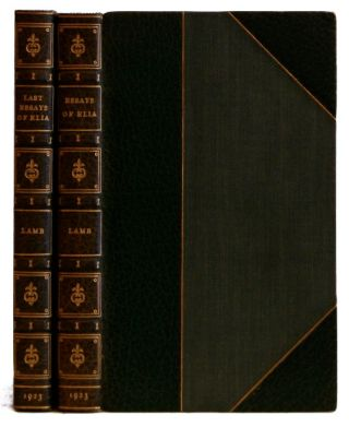 The Essays of Elia: [and] The Last Essays of Elia [2 volumes]. Charles E. Brock, Charles Lamb