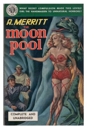The Moon Pool. Avon 370. Abraham Merritt