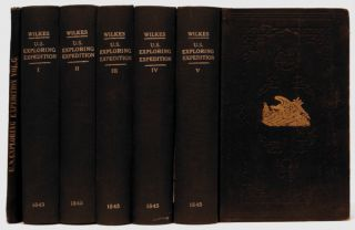 Narrative of the United States Exploring Expedition : During the Years 1838, 1839, 1840, 1841, 1842 [6 Volumes, 5 Volumes Plus Atlas]. Charles Wilkes.