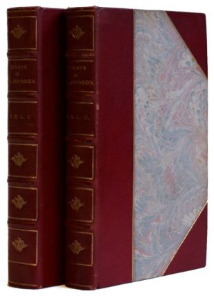 Select Essays of Dr. Johnson [2 volumes]. Samuel Johnson, George Birkbweck Hill