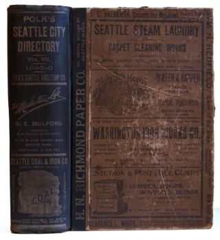 Polk's Seattle City Directory for 1895-6. R L. Polk, Co, Polk's Seattle Directory Company, Co