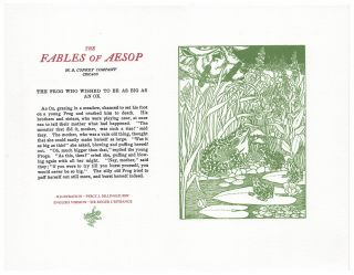 The Fables of Aesop: The Frog Who Wished To Be As Big As An Ox. Aesop English, Sir Roger L'Estrange