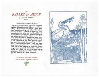 The Fables of Aesop: The Frogs Desiring A King. Aesop English, Sir Roger L'Estrange