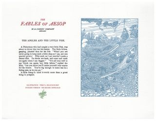 The Fables of Aesop: The Angler and The Little Fish. Aesop English, Sir Roger L'Estrange