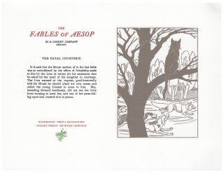 The Fables of Aesop: The Fatal Courtship. Aesop English, Sir Roger L'Estrange