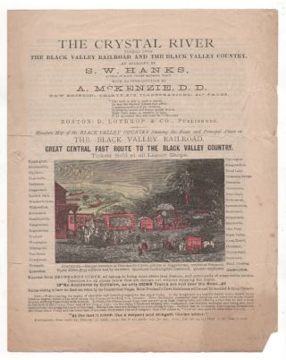 Temperance Prospectus] The Crystal River Turned Upon the Black Valley Railroad and Black Valley...
