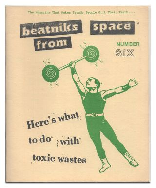 Beatniks From Space No. 6. Denis McBee, Rick van Valkenburg