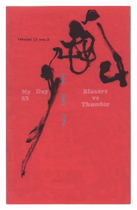 "My Day #23. ""Blazers vs. Thunder"" Nate Orton, Chris Ashby, James Yeary, writers"