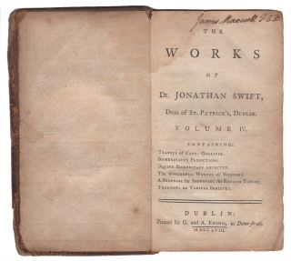 Gulliver's Travels (Travels of Capt. Gulliver, Etc. In the Works of Jonathan Swift, Dean of St. Patrick's, Dublin. Volume IV