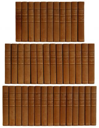The Complete Works of Washington Irving [40 volumes]. Washington Irving