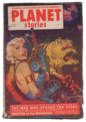 "Planet Stories July 1952 Volume 5 Number 7 [""Beyond Lies the Wub""]. Jack O'Sullivan, Philip K. Dick"
