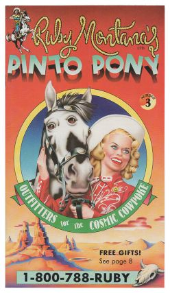 Ruby Montana's Pinto Pony No. 3