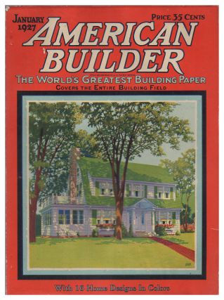 American Builder January, 1927. Volume 42, Number 4