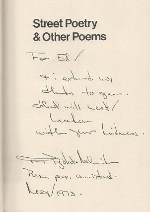 Street Poetry & Other Poems