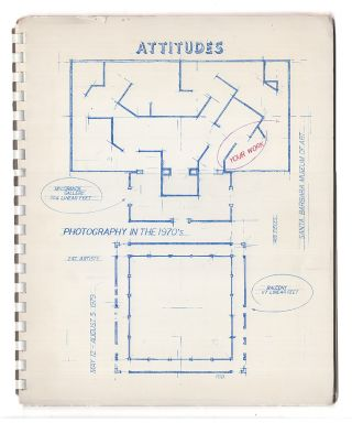 Attitudes: Photography in the 1970's, May 12-August 5, 1979, Santa Barbara Museum of Art. Fred R....