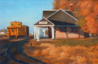 The Art of Gaell Lindstrom: Utah and Beyond in Watercolor and Other Media