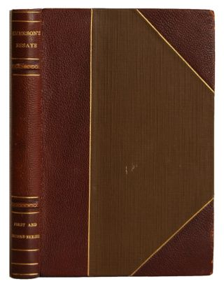 Essays by Ralph Waldo Emerson: First Series and Second Series. Two Volumes in One. Ralph Waldo...