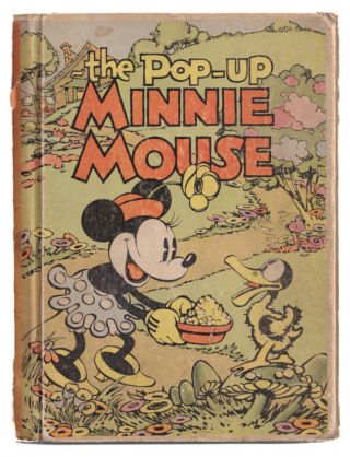 "The ""Pop-Up"" Minnie Mouse. Staff of the Walt Dsiney Studio"