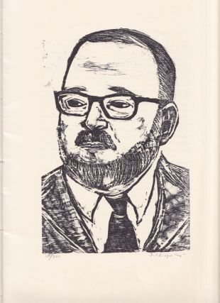James Wright. A Keepsake Printed on the Occasion of the Fourth Annual James Wright Festival Martins Ferry, Ohio. May 4th - 5th, 1984