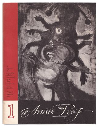 Artist's Proof: a Magazine of Printmaking Volume I, Number 1. Fritz Eichenberg