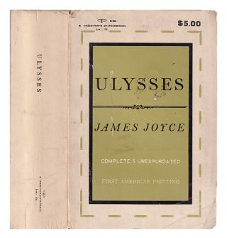 Ulysses Complete & Unexpurgated First American Printing. James Joyce