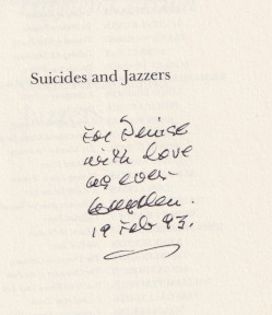 Suicides and Jazzers (Poets on Poetry)