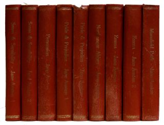 The Novels of Jane Austen [9 Volumes of 10]. Jane Austen, R. Brimley Johnson