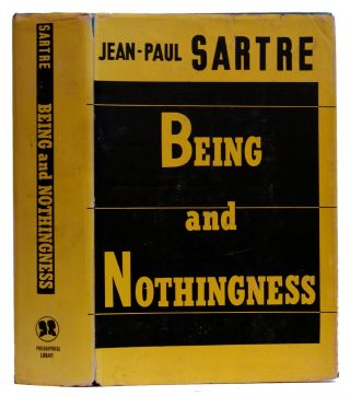 Being and Nothingness : An Essay on Phenomenological Ontology. Jean-Paul Sartre, Hazel E. Barnes