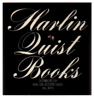 Harlin Quist Books Fall 1973. Patrick Couratin.